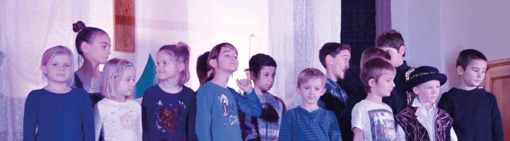 Fête de Noël des enfants à l'Abbaye
