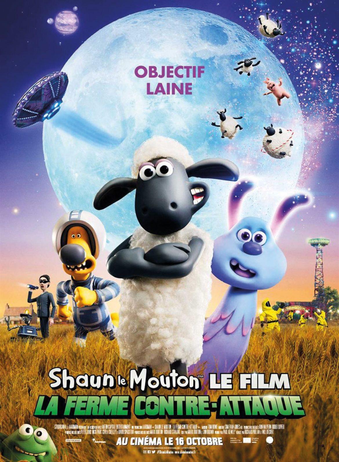 Shaun le Mouton: La ferme contre-attaque