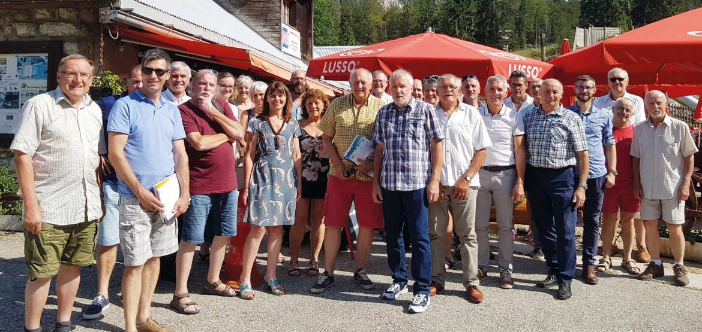 Les Grandes Traversées du Jura ont tenu leur assemblée générale au Mont d'Orzeires
