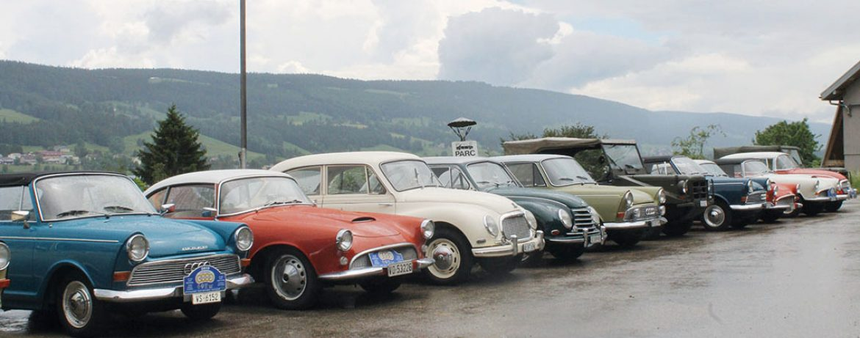 Le Club Auto-Union Suisse Romande était de sortie à la Vallée de Joux