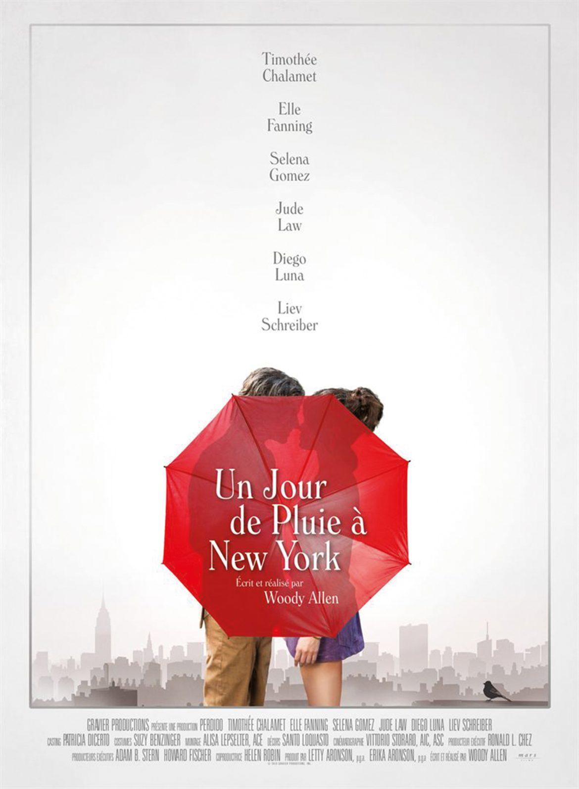Un jour de pluieà New York